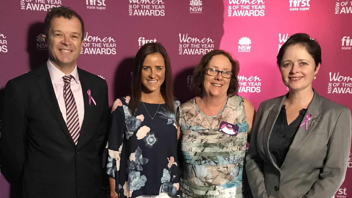 The Leader Kate Fitzsimons honoured for educating young people on importance of overseas travel safety